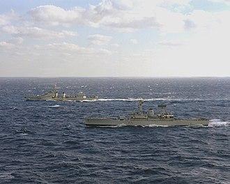 HMS Scylla (F71) - Image: HMS Scylla F71 La Galissonniere D638 1978
