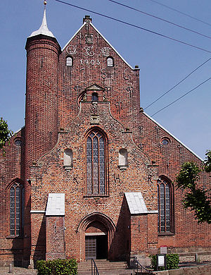 European Route of Brick Gothic - Haderslev Cathedral