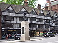 Half-timbered tudor buildings, High Holborn.JPG