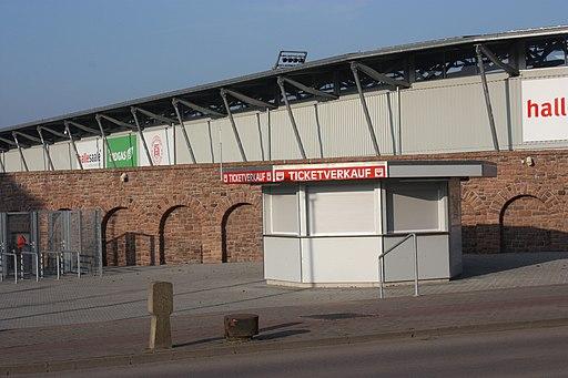 Halle (Saale), das Fußballstadion