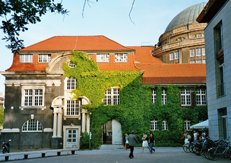 University of Hamburg - Main Building of the University