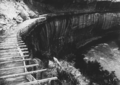 Hanging flume on the lower san Miguel River in 1891.png
