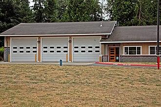 Hansville, Washington - North Kitsap Fire and Rescue station 89 in Hansville