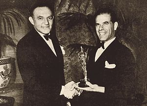 11th Academy Awards - Harry Cohn and Frank Capra