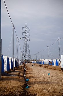 Hassan Sham IDP Camp for Arabs, near Arbil and Mosul on the border of the Kurdistan Region in Iraq 01.jpg