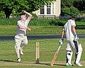 Hatfield Heath CC v. Netteswell CC on Hatfield Heath village green, Essex, England 26.jpg