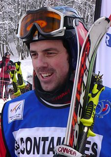 Stanley Hayer Canadian freestyle skier