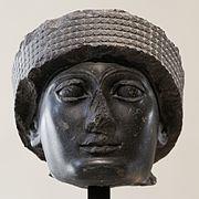 Head Gudea Louvre AO13