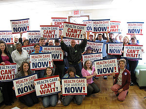 Virginia Organizing - Supporting Health Care Reform