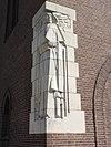 heeswijk abdij berne, rijksmonument 520574 abdijkerk gevelbeeld