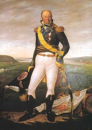 Diderik Hegermann - Diderik Hegermann painted by Jacob Munch in 1816. The painting belongs to the Norwegian Military Academy.
