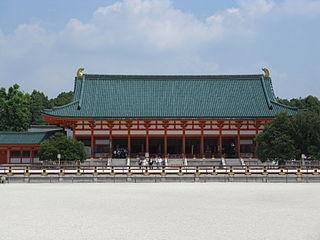 Shinto shrines in Kyoto, Japan