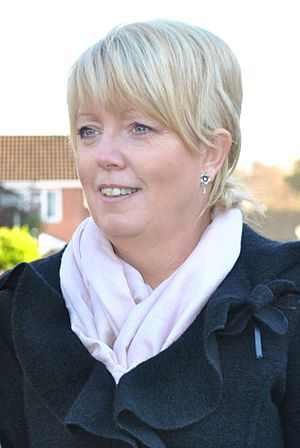 Helen Newlove, Baroness Newlove - Baroness Newlove seen during a visit to Hampshire in November 2010.
