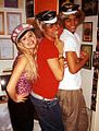 Helena Mattsson, Niño R. Castillo & Mohombi Moupondo 2002.jpg