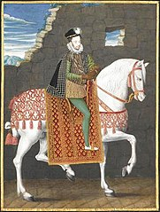 Portrait équestre de Henri III, roi de France