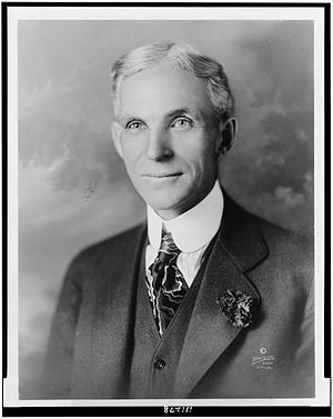 History of Ford Motor Company - Henry Ford (ca. 1919)
