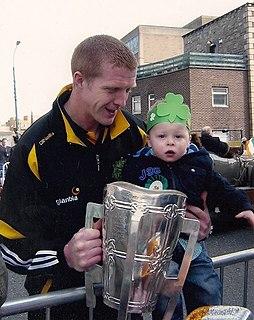 Henry Shefflin hurler from Kilkenny
