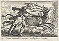 Hercules vangt de hinde van Cerynea Cerva cornibus auratis velocissima capitur (titel op object) Herculische thema's (serietitel), RP-P-OB-52.350.jpg