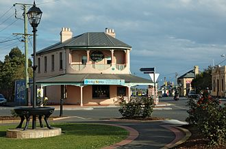 Longford, Tasmania - Heritage Corner, from the early 1830s