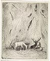 Herten in een Boheems woud, RP-P-1913-3143.jpg