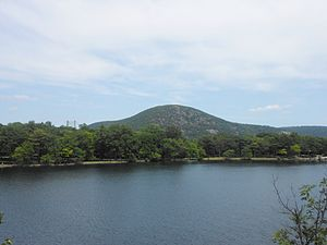 Bear Mountain State Park - Hessian Lake at Bear Mountain State Park