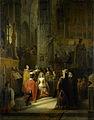 Het huwelijk van Jacoba van Beieren, gravin van Holland, en Jan IV, hertog van Brabant, op 10 maart 1418 Rijksmuseum SK-A-1030.jpeg