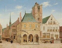 Pieter Jansz. Saenredam: Altes Rathaus von Amsterdam