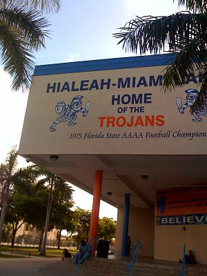 Miami-Dade County Public Schools - Hialeah-Miami Lakes High School founded in 1971
