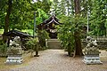 Hida-jinja (Myoko), haiden.jpg