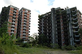 Highland Towers collapse