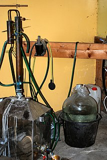 Moonshine High-proof distilled spirit, generally produced illicitly