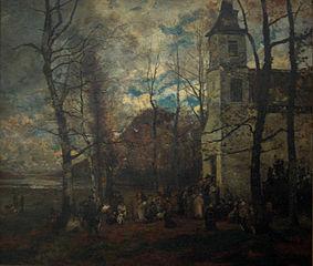 Saint Hubert's mass