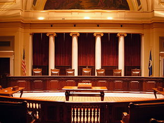Minnesota Supreme Court - Image: Historic M Nsupreme