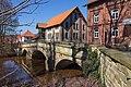 Historische Brücke vor der Wassermühle Meyersiek in Steyerberg IMG 0118.jpg