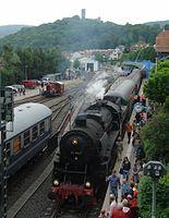 Historische Eisenbahn 52 4867 und Köf in Königstein im Taunus.JPG