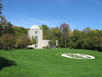 Butler University - Holcomb Observatory and Planetarium, home to the largest telescope in the state of Indiana