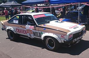 1978 Hardie-Ferodo 1000 - The Allan Grice/John Leffler Holden LX Torana SS A9X which placed second in race. The car is pictured in 2015.