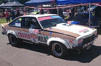 Allan Grice - Grice drove a Holden LX Torana SS A9X for Craven Mild Racing from 1977 to 1980. (Car pictured in 2015)