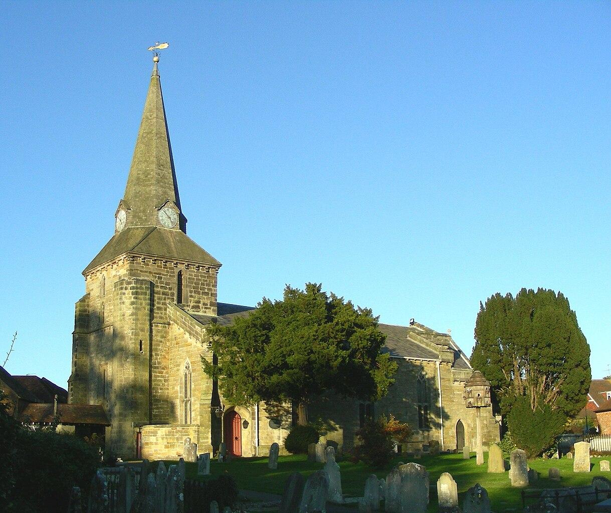 Messageofthecrosschurch Org: File:Holy Cross Church, Uckfield.JPG