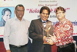 Hortencio Pereira Konkani actor from Goa, India