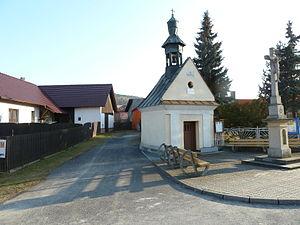 Hostašovice - Chapel