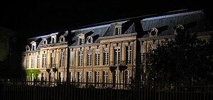 Hôtel d'Aumont - Garden front of the Hôtel d'Aumont, Paris