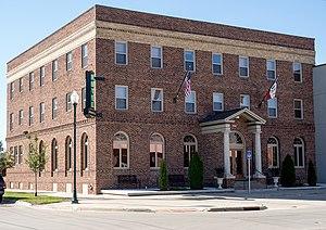 Greenfield, Iowa - Hotel Greenfield