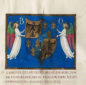 Pietro Candido Decembrio - Opuscula manuscript by Pietro Candido Decembrio, circa 1460–1465