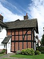 House at Port Sunlight (Timbered with Herringbone Brickwork) - geograph.org.uk - 1489467.jpg