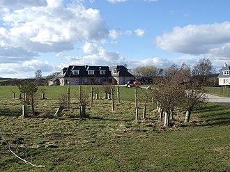 Birse - Image: Housing development in Birse village