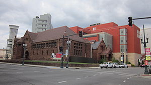 Ogden Museum of Southern Art - Old Library building, Confederate Hall, and Ogden Museum of Art