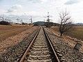 Hradčany, původní trať Brno - Tišnov (06).jpg
