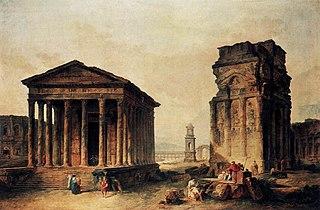 Ruines à Nîmes