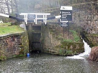 Huddersfield Narrow Canal canal in northern England